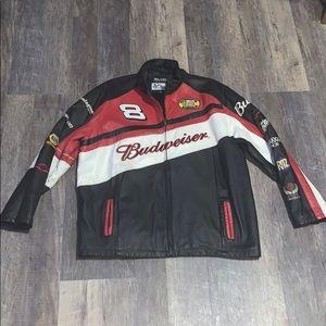 NASCAR leather jacket